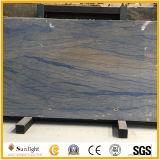 A Grade Hotel Lobby Floor Marble Azul Blue Macaubas Luxury Natural Quartz Stone