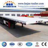 Cheap Widely Used 40FT Flatbed Truck Container Semi Trailer for Sale
