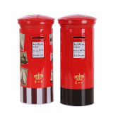 Mailbox Tin Piggy Bank Postbox Tin Money Box