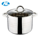 16 Quart Stainless Steel Stockpot with Encapsulated Base