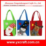 Christmas Decoration (ZY15Y010-1-2-3) Christmas Non Woven Bag Gift Bag