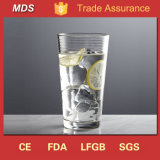 Custom Glassware Novelty Cooler Drinking Glass 500ml for Drinkware