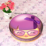 Customized Round Chocolate Box with Cute Kid Image