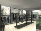 Men Garment Shopfitting, Men Clothes Shop Decoration, Display Fixture