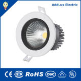 Ce UL Round Warm White 15W COB LED Down Lamp Made in China for Hotel, Accent, Bar & Restaurant, Counter, Showroom, Display, Bedroom Lighting From Best Exporter