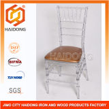 PC Resin Crystal Infinity Chair for Wedding and Party