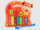 Plastic Children Cartoon Cow Xylophone for Sale (10222011)