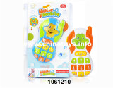 Plastic Toy Cartoon Baby Mobile Phone with Music and Light (1061210)