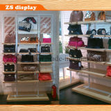 Wall Wood Bags Display Shelf (ZS-070)