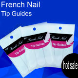 French Nail Sticker Tip Guide for Nail Art Beauty Care Fashion