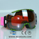 Nose Mask Available Double Spherical Lenses Large Vision Snowboard Goggles