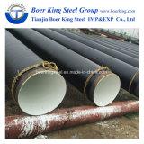 3 Layers PE Pipe, 3PE Coating Anti-Corrosion Spiral Steel Pipe, 3PE Anticorrosion Seamless Steel Pipe