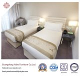 High Quality Hotel Bedroom Furniture with Wooden Twin Bed (YB-D-36)
