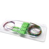 Manufacturer Price 2X8 Steel Tube Fiber Optic PLC Splitter Scapc