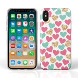 IMD TPU Soft Case with Full Printing Border for iPhone X