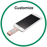 3 in 1 Type OTG USB Flash Drive for iPhone & Android