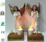Resin Fairy Sculpture Statues Polyresin Craft Garden Decoration