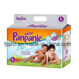 Baby Diaper for Promotion with Clothlike Film PP Tapes Perfume