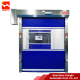 Industrial Electrical Plastic High Speed Roller Shutter Fast PVC Door (HF-1088)