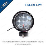 "Auto Round 7"" Headlight 4X4 CREE Chip LED Working Lamp 60W"