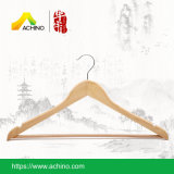 Wooden Suit Hangers with Non Slip Bar
