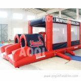 Red Bouncer House Inflatable Obstacle Course (AQ1422-2)