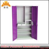 Promotion Bedroom 2 Door Metal Wardrobe / Steel Wardrobe Price