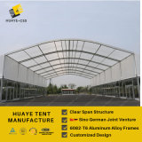 Customized 40m Span Huge Event Tent with Tempering Glass Wall