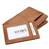 2018 Vintage Leather RFID Blocking Wallet for Men