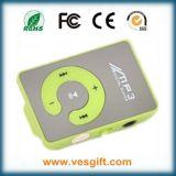 Wholesale Cheap Mini Mirror Clip MP3 Music Player Free Logo