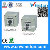 Three Phase Square Changeover Switch with CE