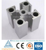Various Extruded Aluminum Shapes in China
