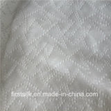 Silk Cotton Clip Woven Fabric