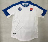 2016 European Cup Slovakia Home White Jersey