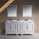 Hot Sell White Double Sinks 72inch Bathroom Vanity