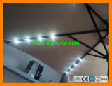 2W Solar Panel LED Lights Umbrella for Outdoor, Beach