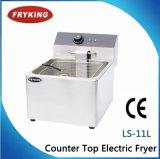 Ls-11L Fryking Counter Top Electric Fryer Main in China