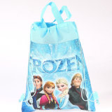 Cartoon Non-Woven Drawstring Bag for Children
