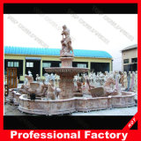 Hand Carved Antique Marble Stone Carving Water Fountain for Garden Decoration