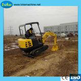 Crawler Excavator 1000kg Mini Farm Digger Countryside Machine with Ce