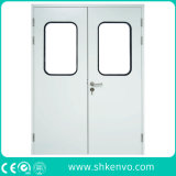 Metal Flush Hygienic Modular Clean Room Entry Doors for Laboratory or Hospital