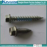 Hex Flange Self Tapping Screws Wih Carbon Steel Cold Foring Screws