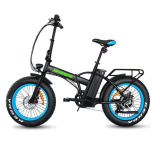 20 Inch Fat Tire Foldable City Electric Bike Rear Motor with Lithium Battery