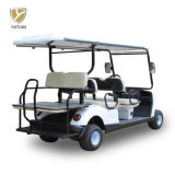Competitive Price Club Car Golf Carts 4+2 Seat Electric Auto Vehicles