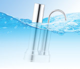 Stainless Steel Household Purifier 3 Stages Countertop Water Filter for RO Water Treatment Filter System Water Purification Dispenser