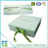 Foldable Cute Green Cardboard Dress Gift Box