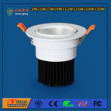 IP20 2700-6500k 3W LED Spot Light for Hotels