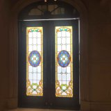China Wholesale Stained Glass Panels Room Dividers Screens Window