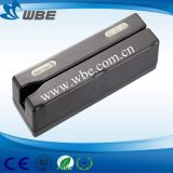 Manual Swip Type USB/RS232 Interface Hi/Lo-Co Magnetic Smart Card Reader/Writer