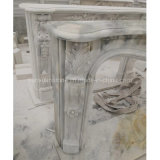 Home Decoration Cultured Marble Fireplace & Cheap Stone Fireplace & Marble Fireplace Mantel